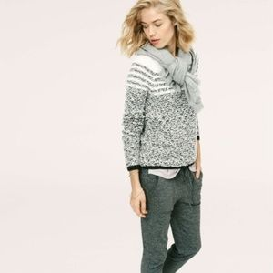 Lou & Grey Fair Isle Felted Boucle Sweater